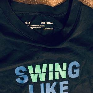 Under Armour Boys Swing Like a Legend Short Sleeve T-Shirt